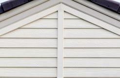 Das weiße Dach Stockbild