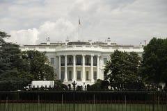 Das Weiße Haus in DC Lizenzfreies Stockfoto