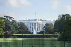Das Weiße Haus in der Washington DCsüdseite Stockfotografie