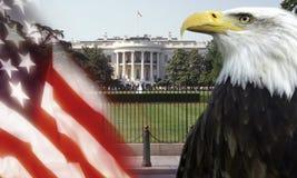 Das Weiße Haus - Washington DC Stockfotografie
