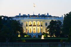 Das weiße haus- Washington DC, Vereinigte Staaten Stockfotografie