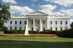 Das Weiße Haus Stockfotos
