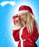 Das Weihnachtsgeschenk Stockfotos