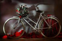 Das Weinlesefahrrad Stockfotos