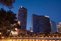 Das Welthotel Las Vegas Boulevard Lizenzfreies Stockbild