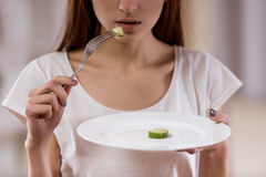 Das Wesentliche von Unterernährung stockfoto