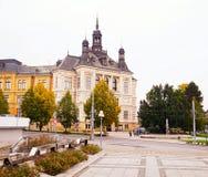 Das West-Böhmen-Museum Stockfotografie