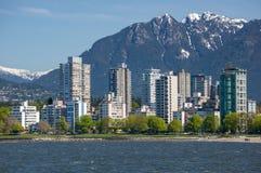 Das West End von Vancouver Stockfotografie