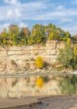 Das White River in Adygea Stockbild