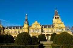 Das Winkheim-Schloss in Szabadkigyos Lizenzfreie Stockbilder