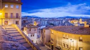 Das wirkliche Segovia Stockfotos