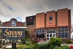 Das Wirsing-Theater in der Glace Bucht, Nova Scotia Lizenzfreie Stockfotografie
