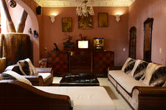 Das Wohnzimmer stockbilder