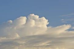Das Wolkenmeer Lizenzfreies Stockbild