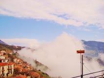 Das Wolkensteigen Stockfotografie