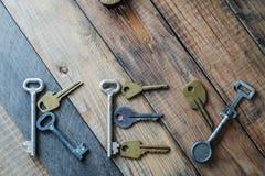 Das Wort ` Schlüssel ` Stockbild