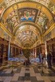 Das wunderbare Kloster EL Escorial, Spanien stockfoto