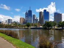 Das yarra Melbourne Stockfotografie