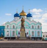 Das Zadonsk-Kloster Lizenzfreie Stockbilder