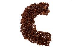 Das Zeichen C stockfotos