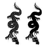 Das Zeichen des Drachen Stockbilder