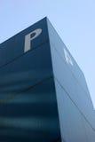 Das Zeichen P lizenzfreie stockfotos