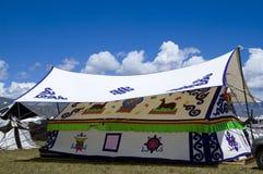 Das Zelt in Tibet Lizenzfreie Stockbilder