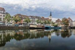 Das zentrale Teil von Straßburg Lizenzfreie Stockbilder