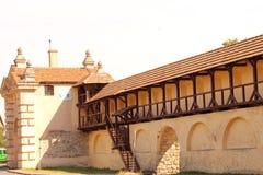 Das Zhovkva-Schloss nahe Lvov Stockbilder