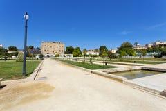 Das Zisa-Schloss in Palermo, Sizilien Italien Stockbilder