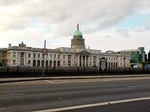 Das Zollamt in Dublin, Irland Stockbilder