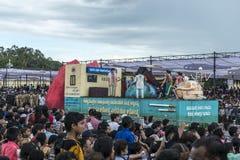 Dasara procession, Mysore Royaltyfria Bilder