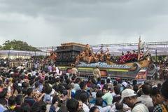 Dasara procession på Mysore Royaltyfria Foton