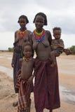 Dasenech,埃塞俄比亚,非洲 免版税库存照片