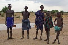 Dasenech,埃塞俄比亚,非洲 库存照片