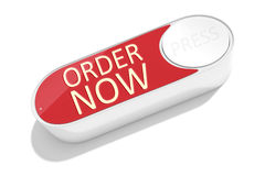 A dash button to order things in the internet Royalty Free Stock Photo
