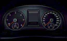 Dash panel Stock Photo