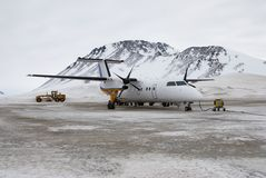 Dash8-100 Stockbild