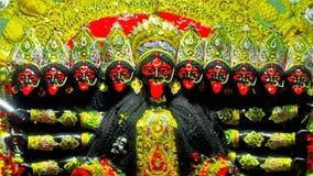 Dasha Munda Dziesięć Głowiasty Kali! Obrazy Royalty Free