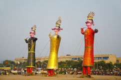 Dashahara - festival indiano Fotografie Stock