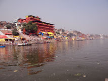 Dashashwamedh Ghat] Varanasi Lizenzfreie Stockfotografie