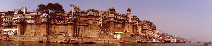 Dashashwamedh Ghat] Varanasi Royalty-vrije Stock Fotografie