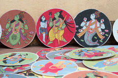 Dashavatara cards, artwork, bishnupur, India Stock Image