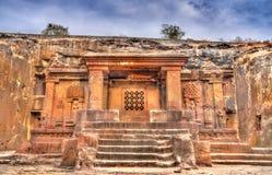 The Dashavatara hindu temple, cave 15 at the Ellora Caves Complex - India Royalty Free Stock Photos