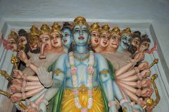Dashavatara ` s лорда Vishnu Математика Kaikadi Maharaj Стоковые Изображения RF
