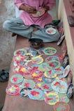 Dashavatarakaarten, kunstwerk, bishnupur, India Stock Afbeelding