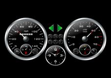 Dashboard_02 Royalty Free Stock Photo