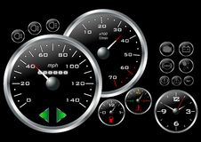 Dashboard_03 Royalty Free Stock Image