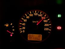 Dashboard [1] Stock Image
