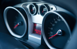 Dashboard. Car Dashboard At day light Royalty Free Stock Images